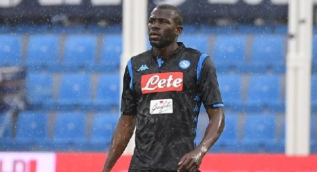 Koulibaly miglior difensore in Serie A: questa sera sarà premiato, patch celebrativa l'anno prossimo sulla sua maglia
