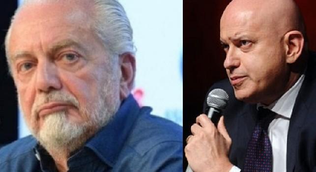 De Paola: De Laurentiis non fa tesoro delle sue esperienze: non ha fatto nulla per il calcio italiano, non ho grande stima per lui