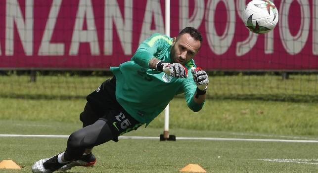 Il Napoli non ha ancora comunicato la decisione su Ospina: il diritto di riscatto scade tra due giorni