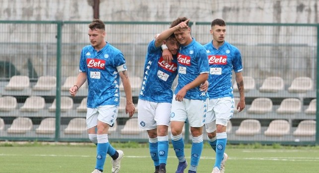 Primavera, Napoli-Fiorentina 2-2: esultanza speciale di Gaetano, Palmieri torna al gol e il black out [FOTOGALLERY CN24]