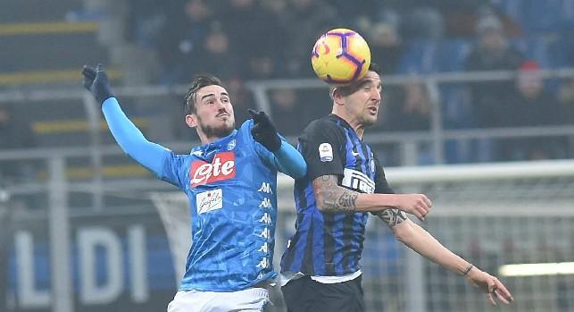 Napoli-Inter, le probabili formazioni: poker di ballottaggi per Ancelotti, Spalletti indeciso tra Icardi e Martinez