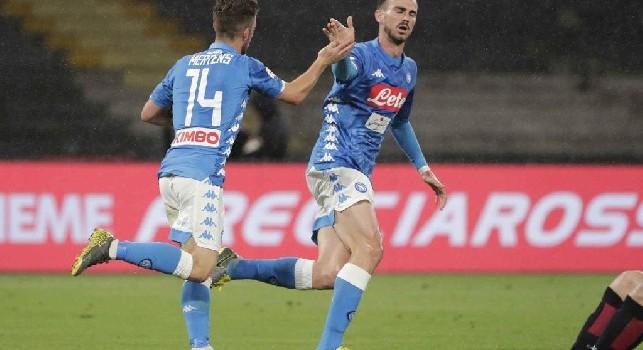 Sky - Napoli-Inter, Mertens in vantaggio su Insigne. Icardi la spunta sul Lautaro Martinez