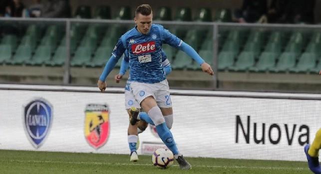 Gol da cineteca per Zielinski: Napoli in vantaggio dopo 16 minuti