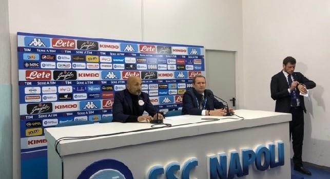 Inter, Spalletti in conferenza: Approccio positivo, poi troppi errori. Icardi fuori? Lautaro viene verso i centrocampisti, mi aspettavo il Napoli in pressing [VIDEO CN24]