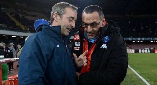Giampaolo: Sarri uno dei migliori insegnanti di calcio a livello europeo, si è fatto da solo. Tradimento? Concetto vetusto