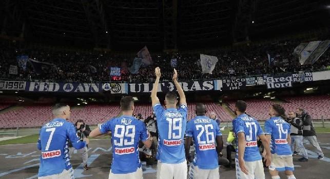 Lettera da brividi ai giocatori del Napoli: Vi abbiamo seguito e sostenuto ovunque, ma forse questo sentimento non è ricambiato [VIDEO]