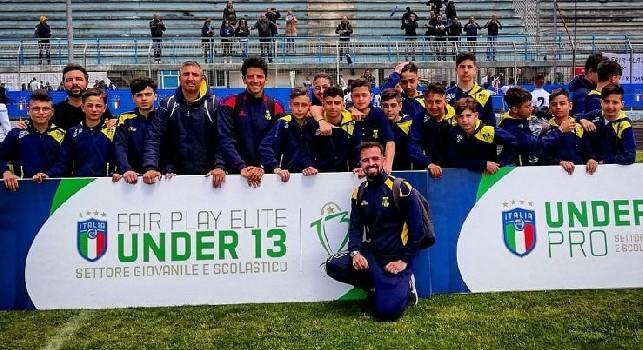 Scudetto Under 13, il Real Casarea nella storia del calcio campano: si qualifica alla Final Four nazionale!