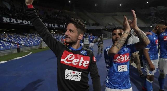 Dries Mertens, attaccante del Napoli