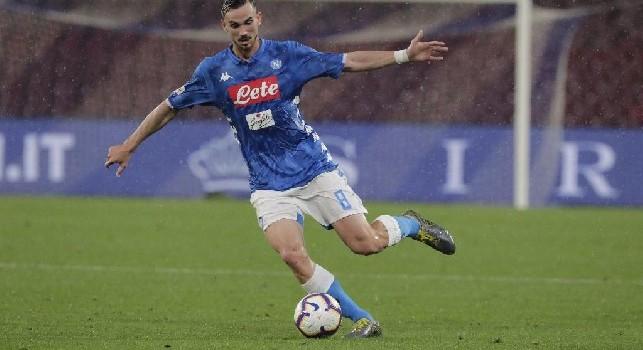 Fabian Ruiz, centrocampista della SSC Napoli