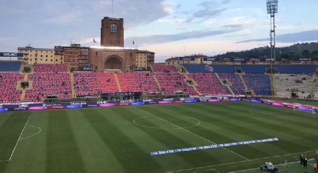 Bologna-Napoli, splendida iniziativa al Dall'Ara: sarà sperimentato un servizio per i non vedenti