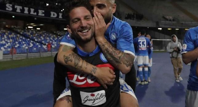Calciomercato Napoli Insigne Mertens