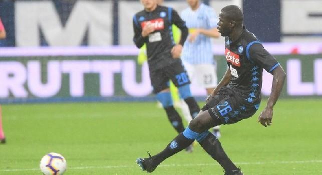 Mercato Napoli, rifiutati 90 mln dal Real per Koulibaly! PSG pronto a spendere la stessa cifra