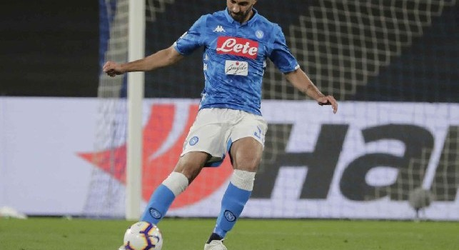 Raul Albiol, difensore centrale spagnolo del Napoli