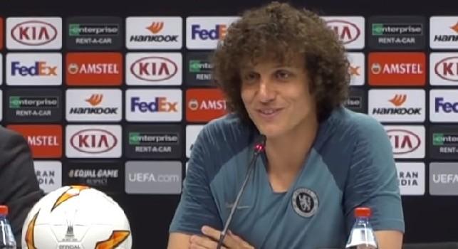 David Luiz in conferenza
