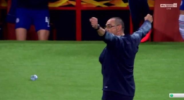Sarri 'vendica' il Napoli, travolto l'Arsenal 4-1: il Chelsea vince l'Europa League!