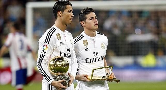 Venerato a CN24: Mendes sta trattando l'affare James-Napoli, ecco le richieste del Real Madrid. Altri due nomi per l'attacco