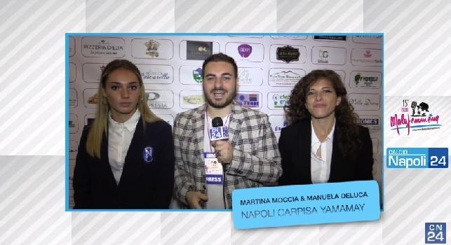 Carpisa Yamamay, De Luca: L'anno prossimo si fa sul serio, incontreremo Juve e top club d'Italia!, il capitano: Squadra molto valida [ESCLUSIVA]