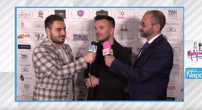 Andrea Sannino a CN24: <i>Abbracciame</i> la canta tutto lo spogliatoio, Mertens mi scrive in napoletano! [VIDEO]