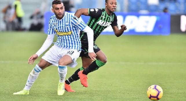 Il Roma - Niente Theo Hernandez, il Napoli vira su Fares della SPAL: Raiola potrebbe portarlo in azzurro con facilità