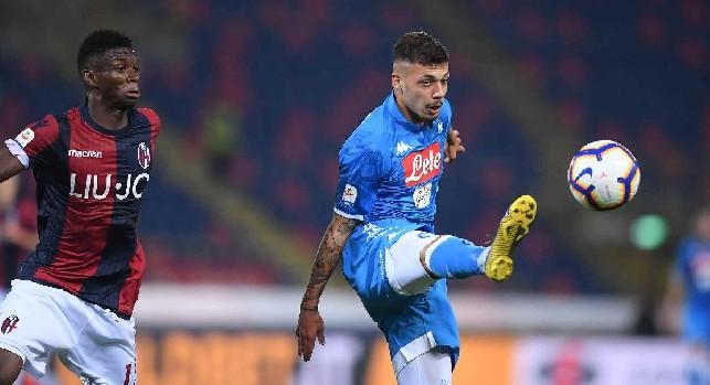 Gianluca Gaetano, attaccante della SSC Napoli