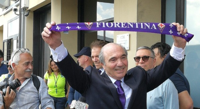 Fiorentina, il presidente Commisso sarà presente al Franchi per il match contro il Napoli
