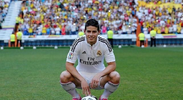James Rodriguez al Napoli, Roncero a CN24: No al prestito del Real, ma possibile questa particolare formula