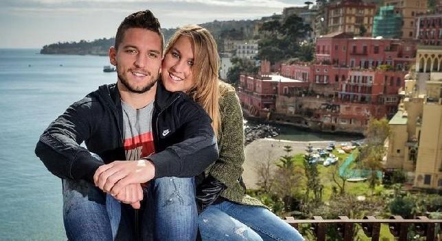 Voci sulla sua voglia di andar via, la moglie di Mertens smentisce la stampa belga: Mi manca Napoli... [FOTO]