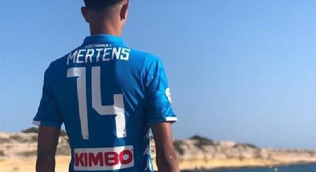 Zedadka con la maglia di Dries Mertens: Da Marsiglia a Napoli [FOTO]