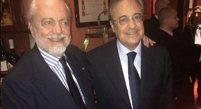 James Rodriguez - Napoli, Gazzetta: guerra di nervi tra De Laurentiis e Florentino. Nessuno dei due vuole cedere: si tratta a oltranza