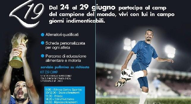 Il campione del mondo Zambrotta a Napoli, protagonista del Campo Estivo ad Agnano: date e tutti i dettagli
