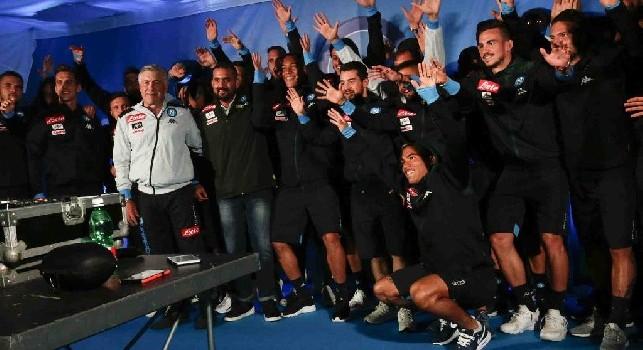 Ritiro Napoli Dimaro 2019