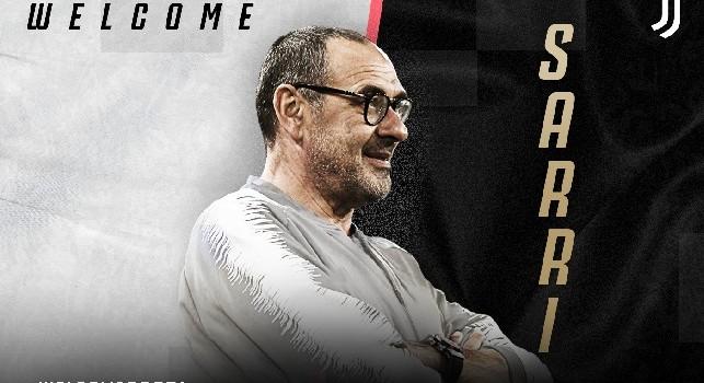UFFICIALE - Sarri nuovo allenatore Juventus, ecco il comunicato del club bianconero: Benvenuto Maurizio