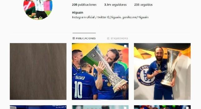 Higuain chiude il suo profilo Instagram: Da oggi non è più il mio account, buona giornata [FOTO]