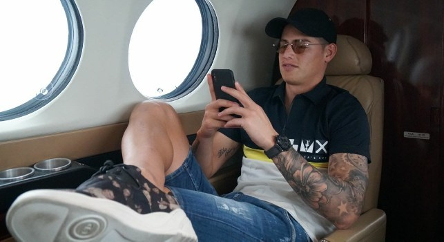 Dalla Colombia: James Rodriguez in volo verso Madrid! E' combattuto tra Napoli e Atletico