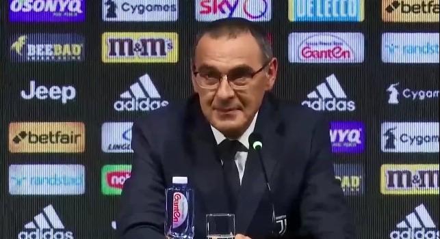 Sarri su De Laurentiis: Non l'ho sentito, lo ringrazierò sempre per avermi fatto allenare il Napoli!