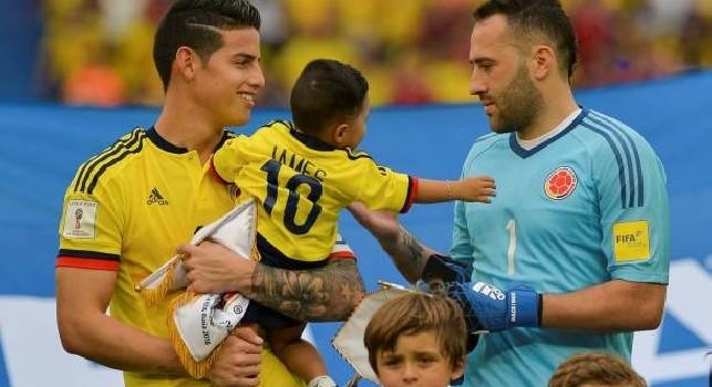James Rodriguez dopo il ko con la Colombia: Bisogna andare avanti, abbiamo dato tutto [FOTO]