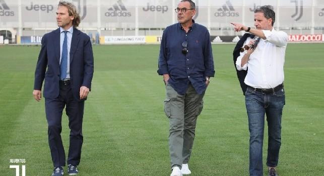 Juventus, Paratici: Cessioni? Io e Sarri dobbiamo rispettare lista Champions. Icardi? È un calciatore dell'Inter