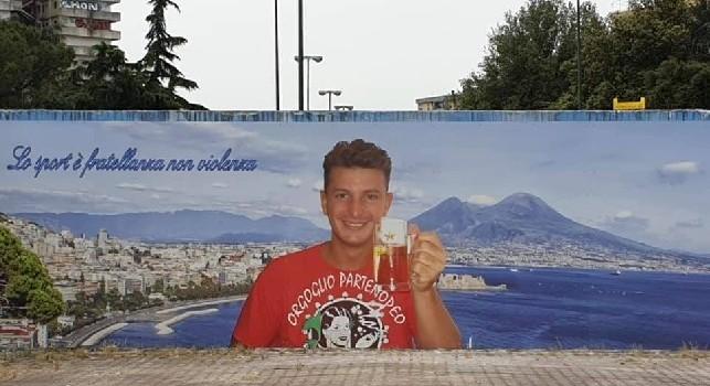 Nuovo murales per Ciro Esposito: Lo sport è fratellanza non violenza