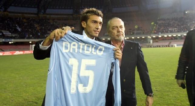 Inserito nella formazione degli argentini in maglia azzurra, Datolo ringrazia: Grazie Napoli! [FOTO]