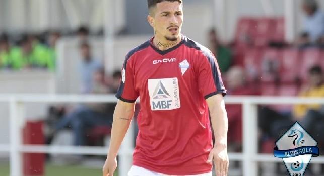 Raffaele Russo, foto ufficiale dell'Albissola