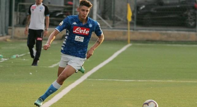 Alessandro Zanoli, difensore della SSC Napoli