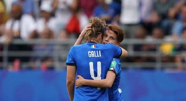 Italia Olanda femminile calcio