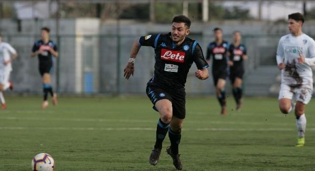 Ciro Palmieri, attaccante della SSC Napoli