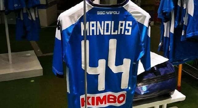 Manolas al Napoli