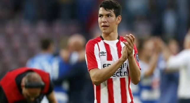 Hirving Lozano, attaccante del PSV
