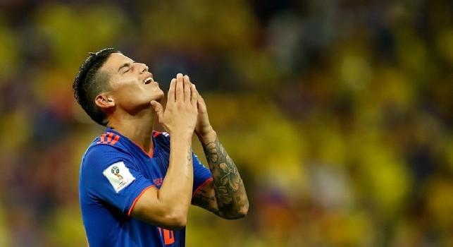 Il Roma, Scotto: Real ha fatto sconto di 13mln per James, ma il Napoli punta al prestito