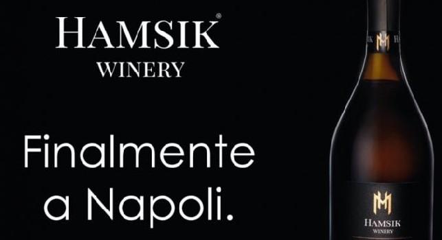 Finalmente a Napoli!: il vino di Hamsik disponibile anche in città [FOTO]
