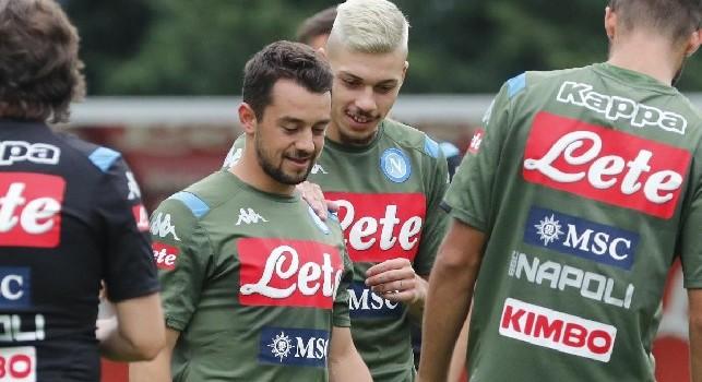 Ancelotti su Younes: Può giocare contro il Verona! Si è allenato bene, venti giorni fa però...