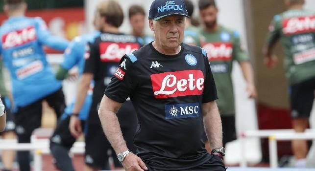 Altri due cambi per Ancelotti: dentro Di Lorenzo e Mario Rui