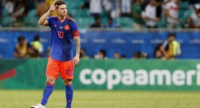 Filardi: James Rodriguez perfetto per gli azzurri, Napoli piazza ideale per il colombiano